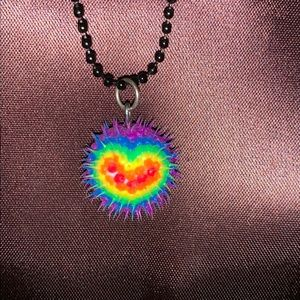 Kids Heart Spike Necklace!!!